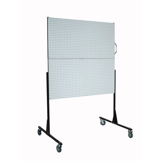 View a Larger Image of 50 In. W Mobile Stand-Alone Pegboard Unit with 4 Polypropylene DuraBoard Pegboards