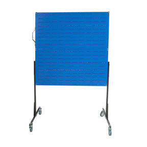 50 In. W Mobile Stand-Alone Unit with 4 Louvered Panels