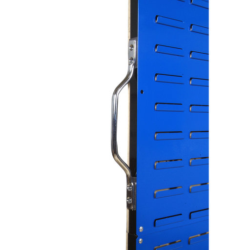 View a Larger Image of 50 In. W Mobile Stand-Alone Unit with 4 Louvered Panels