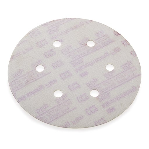 """View a Larger Image of 50mic 6"""" Dia H & L Mico Finish  Disk 366L 6 Hole"""