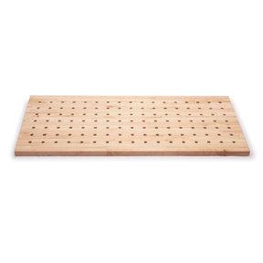 54x25 Premium Hardwood Peg Table Top