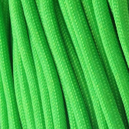 View a Larger Image of  550 FireCord - 25' SAFETYGREEN Paracord