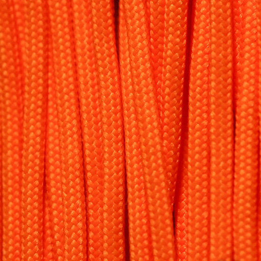 View a Larger Image of  550 FireCord - 50' SAFETYORANGE Paracord