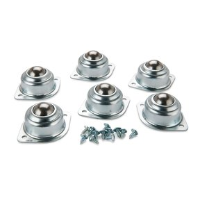 """6-Piece 1"""" Universal Transfer Rollerball Guides"""