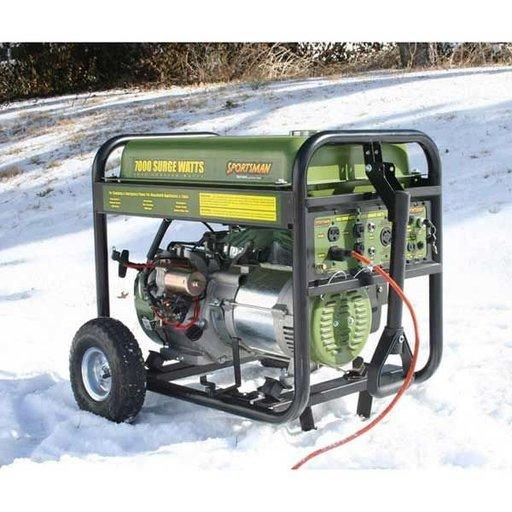 View a Larger Image of 7000 Watt Gas Generator