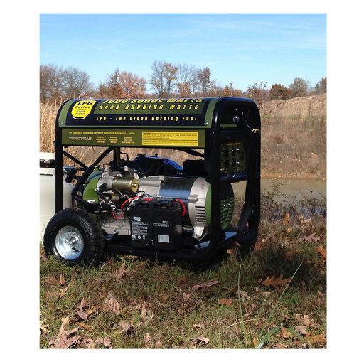 View a Larger Image of 7000 Watt Propane Generator