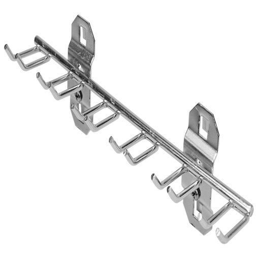 View a Larger Image of 8-1/8 In. W with 3/4 In. I.D. Stainless Steel Multi-Prong Tool Holder for Stainless Steel LocBoard