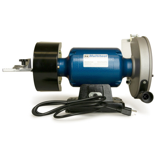 """View a Larger Image of 8"""" Grinder, MT362 2x36 Attachment, Tilt Stand, Metal Working Belt and Disc Kit, Miter Table"""