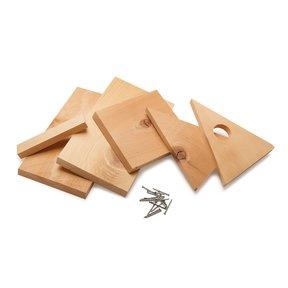 A-Frame Wooden Birdhouse Kit
