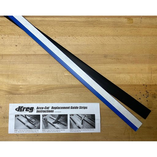 View a Larger Image of Accu-Cut Replacement Guide Strips