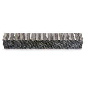 Acrylic Honeycomb Pen Blank - Black