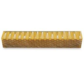 Acrylic Honeycomb Pen Blank - Yellow