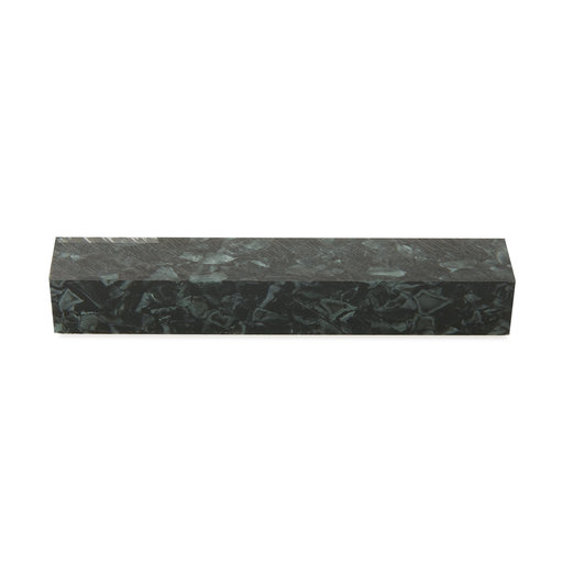 "View a Larger Image of Acrylic Pen Blank - 3/4"" x 3/4"" x 5"" - Black Quartz"