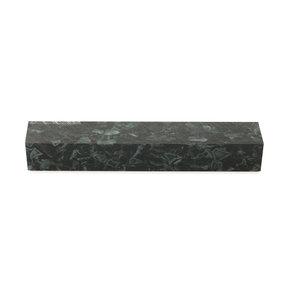 "Acrylic Pen Blank - 3/4"" x 3/4"" x 5"" - Black Quartz"