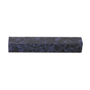 """Acrylic Pen Blank - 3/4"""" x 3/4"""" x 5"""" - Dark Purple Quartz"""