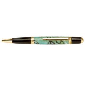 "Acrylic Pen Blank - 3/4"" x 3/4"" x 5"" - Abalone"