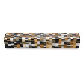 """Acrylic 3/4"""" x 3/4"""" x 5"""" Golden Rubix Turning Stock"""