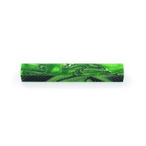 "Acrylic Pen Blank - 3/4"" x 3/4"" x 5"" - Grasshopper"