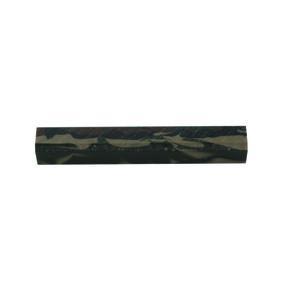 "Acrylic Pen Blank - 3/4"" x 3/4"" x 5"" - Jungle Camo"