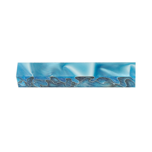 """View a Larger Image of Acrylic 3/4"""" x 3/4"""" x 5"""" Persian Blue Turning Stock"""