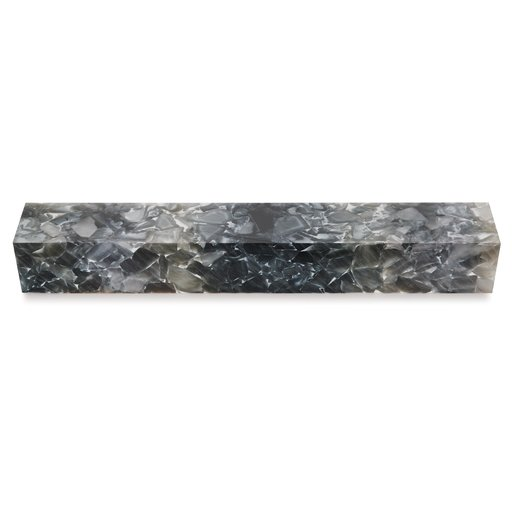 """View a Larger Image of Acrylic 3/4"""" x 3/4"""" x 5"""" Silver Mercury Quartz Turning Stock"""