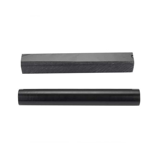 """View a Larger Image of Acrylic 3/4"""" x 3/4"""" x 5"""" Solid Black Turning Stock"""