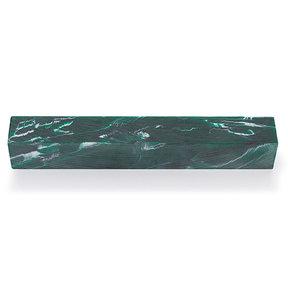 "Poly Resin Pen Blank - 3/4"" x 3/4"" x 5"" - Evergreen"