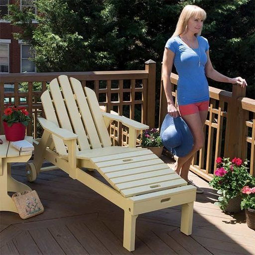 View a Larger Image of Adirondack Chaise Lounge - Paper Plan