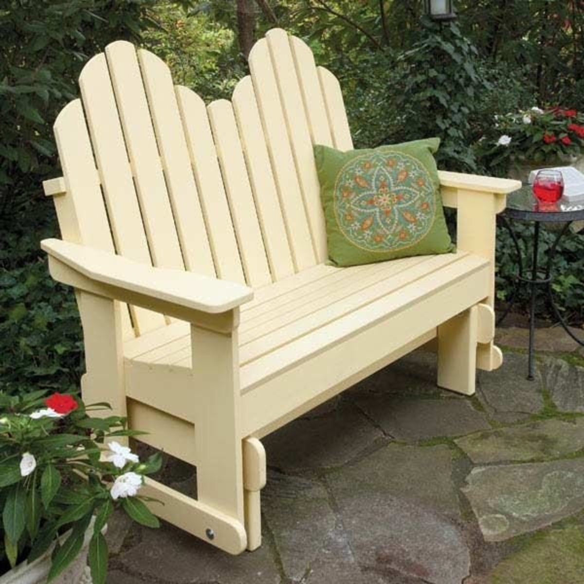 View a Larger Image of Adirondack Glider Downloadable Plan