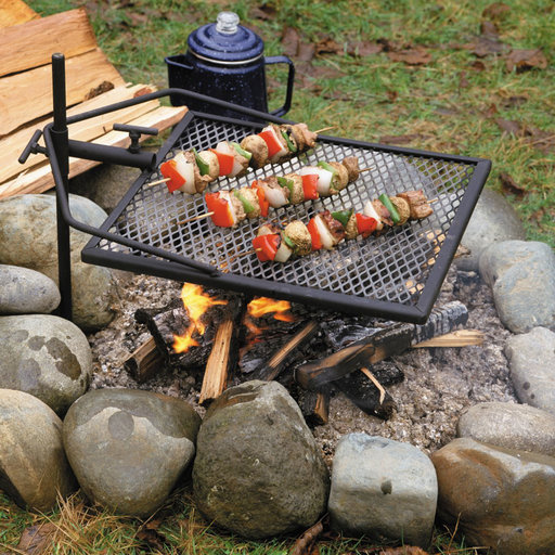 View a Larger Image of Adjust-A-Grill