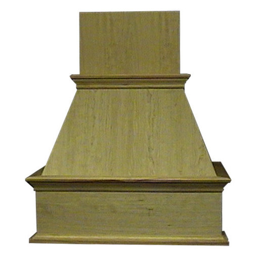 """View a Larger Image of 36"""" Decorative Hood Red Oak"""