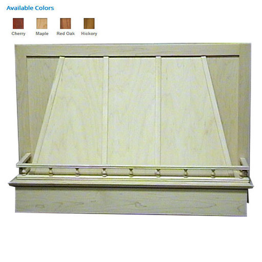 """View a Larger Image of 36"""" Standard Valance Maple"""