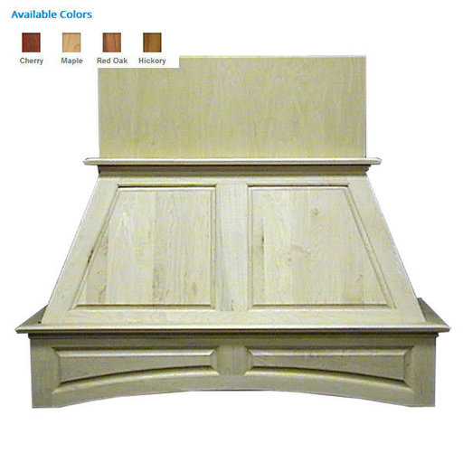 """View a Larger Image of 42"""" Double Panel Island Red Oak"""