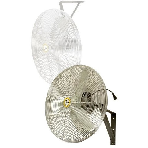 """View a Larger Image of Commercial Air Circulator 24"""" Wall/Ceiling Mount, Non-Oscillating"""
