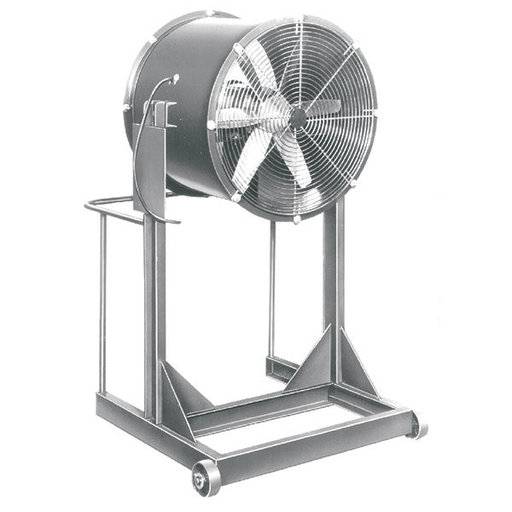 View a Larger Image of Direct Drive Air Blaster, High Stand, 360 Tilt