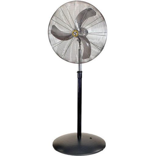 "View a Larger Image of Heavy Duty Air Circulator, 30"" Pedestal Fan"