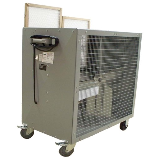 View a Larger Image of Heavy Duty Belt Driven Mobile Filtered Fan, Model 39181