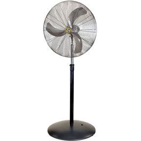 "Heavy Duty Hazardous Location Air Circulator, 24"" Pedestal Fan"