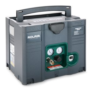 AIRSTAK 1 HP 1.6 Gallon Compressor in systainer