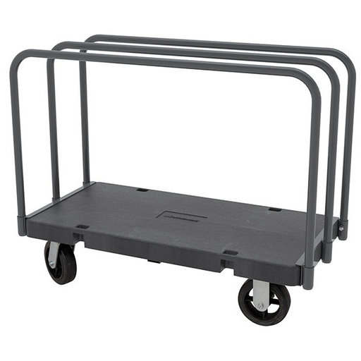 """View a Larger Image of Akro-Mils Versa/Deck """"D"""" 3 Open Straight Bars, 30"""" x 60"""" with 8"""" Mold-On Rubber Casters"""