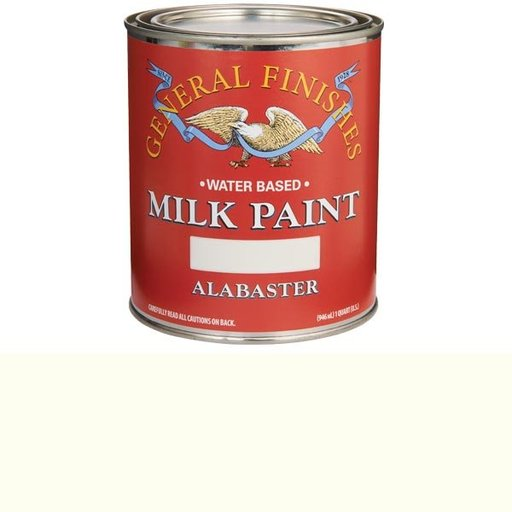 View a Larger Image of Alabaster Milk Paint Water Based Quart