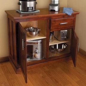 All-Purpose Kitchen Cabinet - Paper Plan