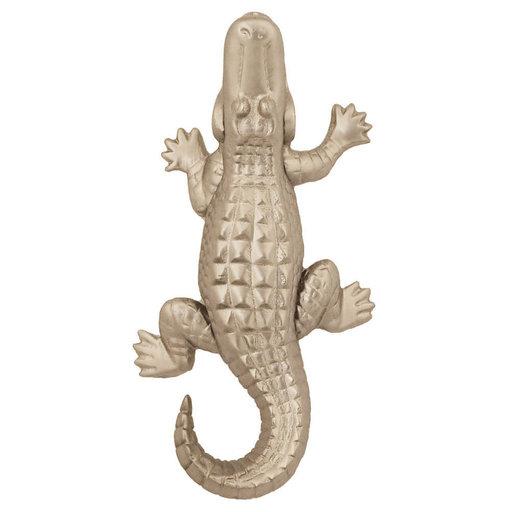 View a Larger Image of Alligator Door Knocker - Nickel Silver