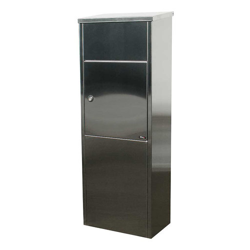 View a Larger Image of Allux Series 600 Top Loading Parcel Box in Stainless Steel