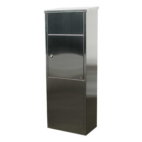 Allux Series 600 Top Loading Parcel Box in Stainless Steel