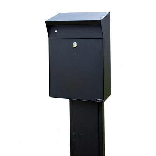 View a Larger Image of Allux Series Bjorn Wall Mounted Parcel Box in Black