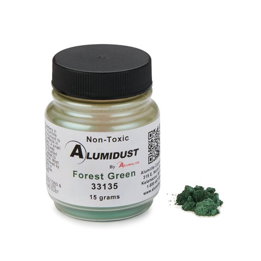 View a Larger Image of Alumidust Forest Green 15gram