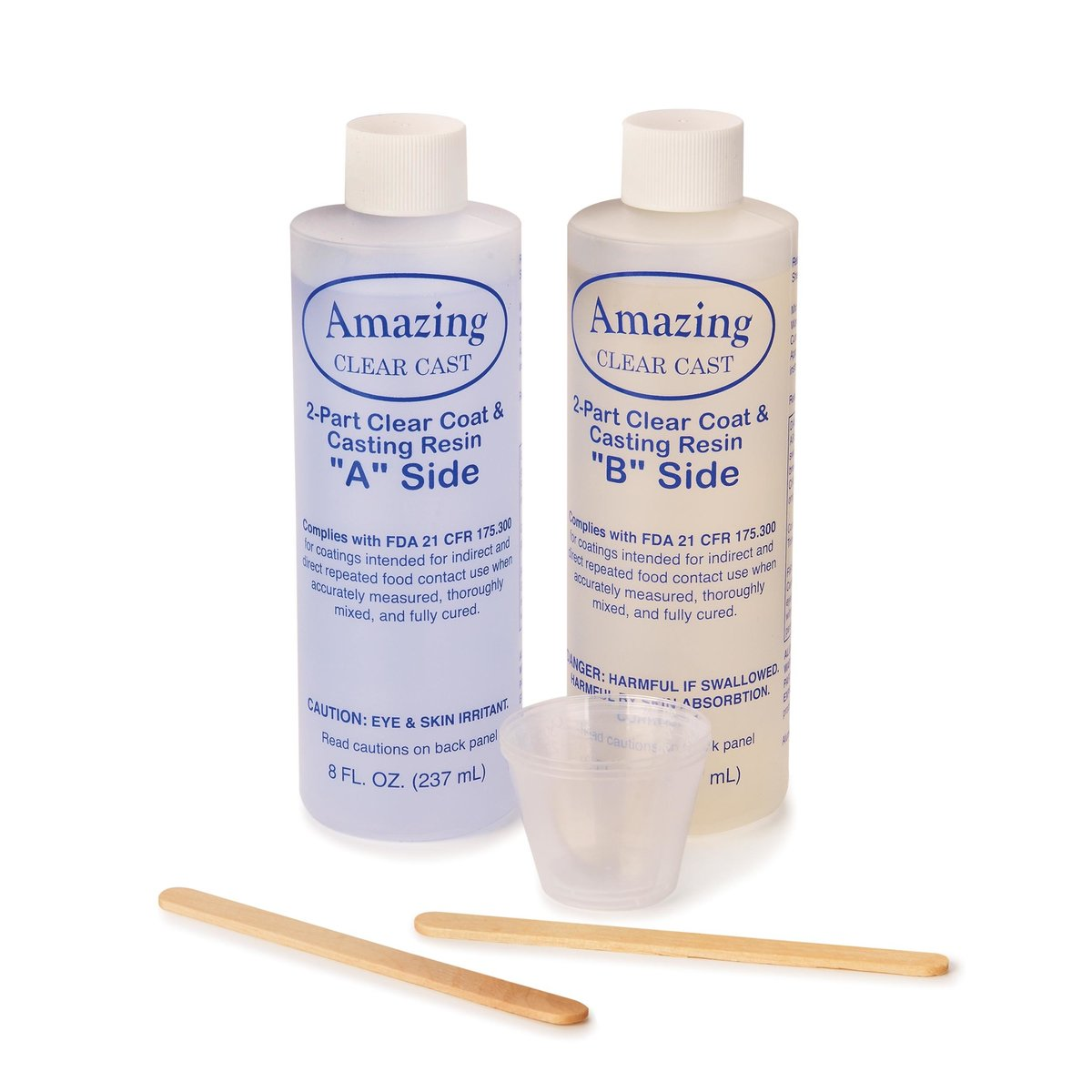 View a Larger Image of Clear Cast High Gloss 16 Ounce Kit