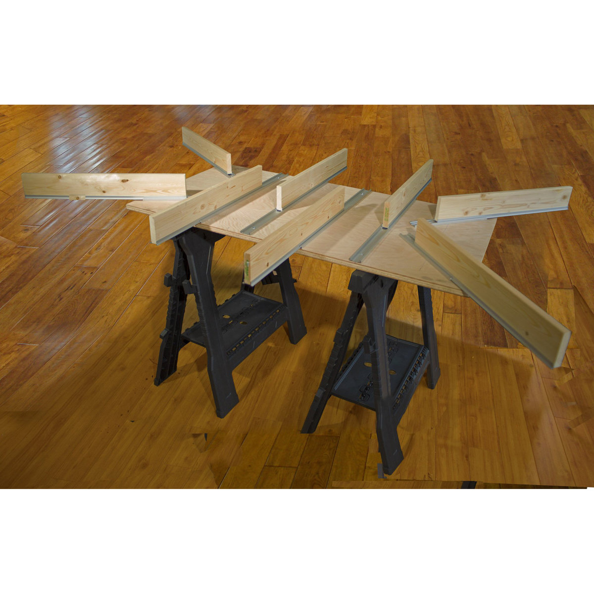 View a Larger Image of Aluminum Expandable Track Table Kit