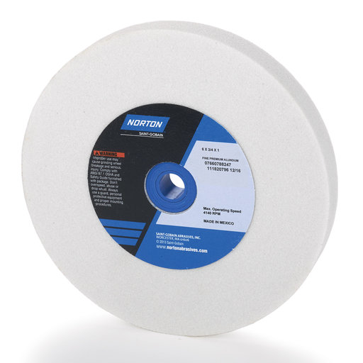 View a Larger Image of Aluminum Oxide 6x3/4x1 Wheel 100grr